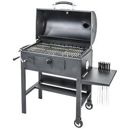 Blackstone 3-in-1 Kabob Charcoal Grill, Barbecue, Smoker, Au