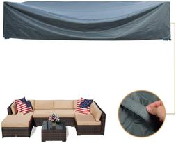 Coismo 126'x63'x28' Extra Large and Durable Patio Furniture