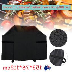 153x76x112cm Outdoor Waterproof Polyester BBQ Gril Cover Rep