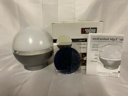 NEW IN BOX WEBER LUNETTE BATTERY POWERED OUTDOOR LIGHT SET