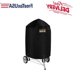 """28.5"""" BBQ Grill Cover Heavy Duty All Weather Protect For Web"""