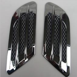 2Pcs/Set High Quality Car Side Air Flow Vent for Fender Hole
