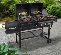 Smoke Hollow 3 Burner Propane Gas/Charcoal Combo Grill