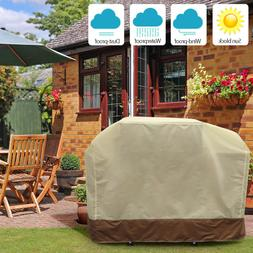 3 Sizes BBQ Gas Grill Cover Barbecue Waterproof Outdoor Heav