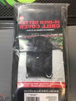 30 Inch Kettle Grill Cover PVC Free Black