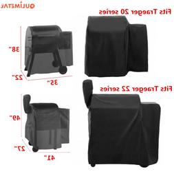 """35/40"""" Waterproof Grill Cover For Traeger 20 Series 22 Serie"""