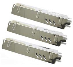 3x Stainless Steel Heat Plate Burner Cover BBQ Gas Backyard