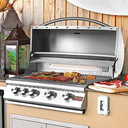 Blaze 32-Inch 4-Burner Built-In Propane Gas Grill With Rear