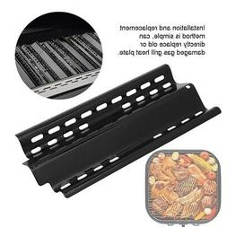 4Pcs BBQ Gas Grill Heat Shield Plate Burner Cover Replacemen