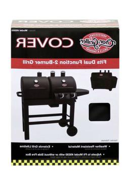 Char-Griller 5055 Grill Cover, Fits Dual Function 5030 2 Bur