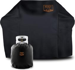 "52"" BBQ Grill Cover Medium Heavy Duty For Weber & Char Broil"