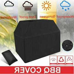 "57"" BBQ Gas Grill Cover Gas Barbecue Waterproof Outdoor Heav"