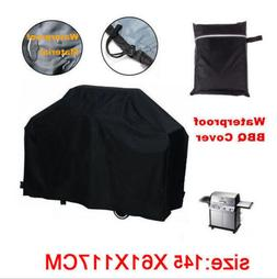 57 Inch Waterproof BBQ Cover Garden Patio Gas Barbecue Grill