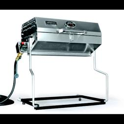 Camco Olympian 5500 Stainless Steel Portable Gas Grill Conne