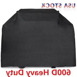 "58"" 64"" 70"" 72"" BBQ Grill Gas Barbecue Black Cover Waterproo"