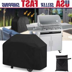 "58"" Waterproof Heavy Duty BBQ Cover Garden Patio Gas Barbecu"