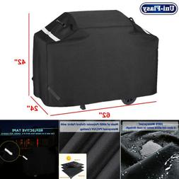 """62"""" Waterproof Heavy Duty Grill Cover for  3-4 Burner Charbr"""
