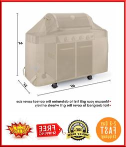 65-inch BBQ Gas Grill Cover For Weber Char-Broil Nexgrill Br