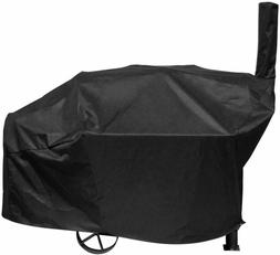 "66"" BBQ Grill Cover Heavy Duty Waterproof Fits Brinkmann Tra"