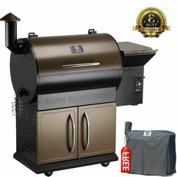 700SQ.in Best Pellet Grill BBQ Smoker Cover w/ Digital Contr