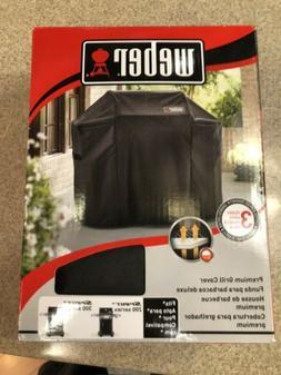 Weber 7106 Grill Cover Black Storage Bag For Spirit 220 and