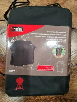 Weber 7106 Grill Cover Black Storage Bag For Spirit 220 and