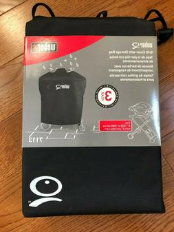 Weber Grill Q 200 Gas Grill Full Length Cover for Rolling Ca