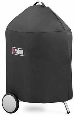 "WEBER 7150 Charcoal Grill Cover With Storage Bag For 22"" Mas"
