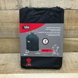 """Weber 7150 Premium Vinyl Grill Cover Fits 22"""" Charcoal Kettl"""