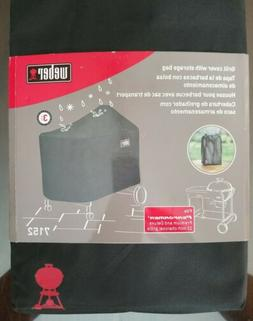 Weber 7152 Premium Grill Cover With Storage Bag For Performe