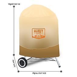 "Yukon Glory 7453/TB Premium Grill Cover Fits 22.5"" Inch -Ket"