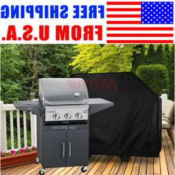 "75""Gas Grill Cover Outdoor Barbecue Charcoal Smoker Cover Al"