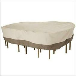 Classic Accessories 78922 Patio Table Chair Round Cover - Ta