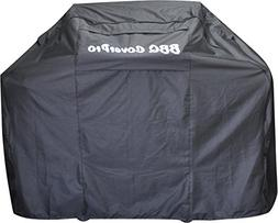 BBQ Coverpro - Heavy Duty Fabric BBQ Grill Cover   Black For