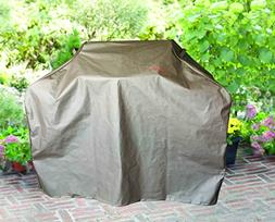 BBQ Coverpro - Waterproof BBQ Grill Cover  Brown For Weber,
