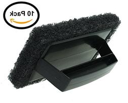 BBQ grill grate cleaner Grill brush Scrapers Grid Scrub PACK