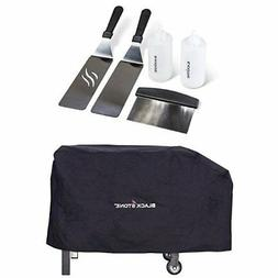Blackstone Griddle Accessory Kit and Grill Cover