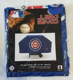 Chicago Cubs Economy Team Logo BBQ Gas Propane Grill Cover -