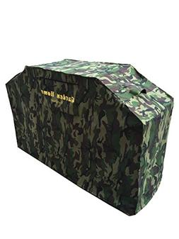 "Garden Home Outdoor Heavy Duty Grill Cover, 68"", Camo"
