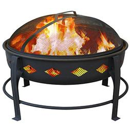 Landmann - Bromley Diamond Fire Pit - Black