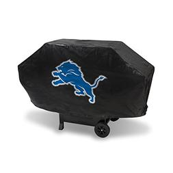 NEW NFL Detroit Lions Deluxe Grill Cover, Black, 68-inch by