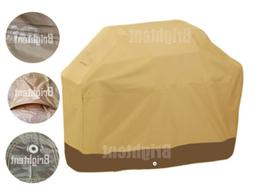 Premium Heavy Duty Waterproof 58'' BBQ Cover Smoker Barbecue