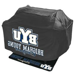 Mr. Bar B Q NCAA Grill Cover and Grill Mat Set, Brigham Youn