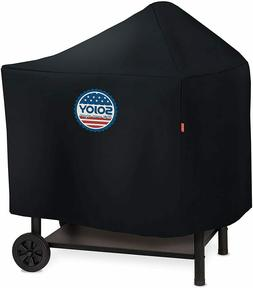 Sojoy Barbecue and Grill Cover for Weber Performer Deluxe Ch
