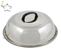 Basting Cover Griddle Cheese Grill Cooking Steamer Lid Dome