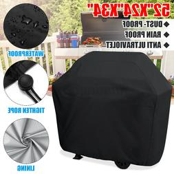 "BBQ Gas Grill Cover 52"" Barbecue Waterproof Outdoor Heavy Du"