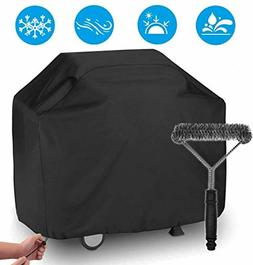 "BBQ Gas Grill Cover 57"" Waterproof Heavy Duty for Weber Brin"