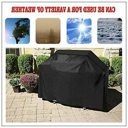 "BBQ Gas Grill Cover 58"" Barbecue Waterproof Outdoor Heavy Du"