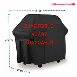 LiBa BBQ Gas Grill Cover 7107 for Weber: 44x60 in Heavy Duty