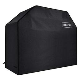 "BBQ Gas Grill Cover Heavy Duty 58"" BLACK Barbecue Waterproof"